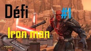 Défi Iron man - Guerrier Sith | Ep 1