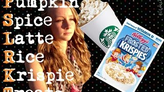 Psl Rice Krispy Treats   Carolina Bee