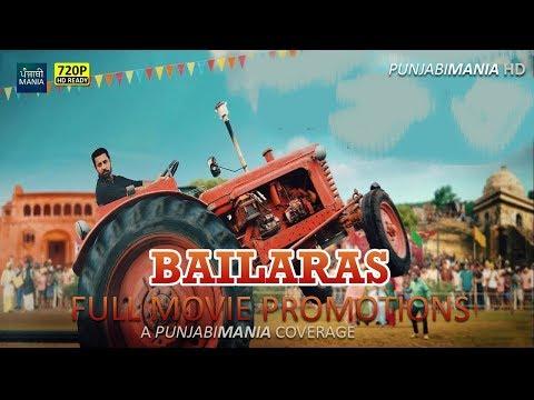 Watch Bailaras Full Punjabi Movie Promotions Covered by Punjabi Mania | Binnu Dhillon, Prachi Tehlan