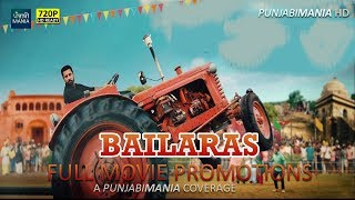 Watch Bailaras Full Punjabi Movie Promotions Covered by Punjabi Mania | Binnu Dhillon, Prachi Tehlan