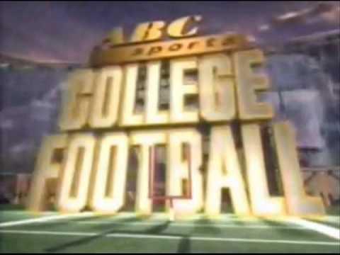 ABC Sports College Football Theme 1989 - 1993 - YouTube