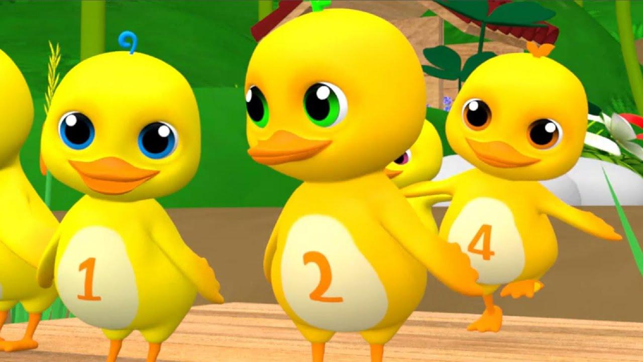 Một Con Vịt - Nhạc Thiếu Nhi hoạt hình 3D Vịt Con Chú Ếch Con, Bống Bống Bang Bang