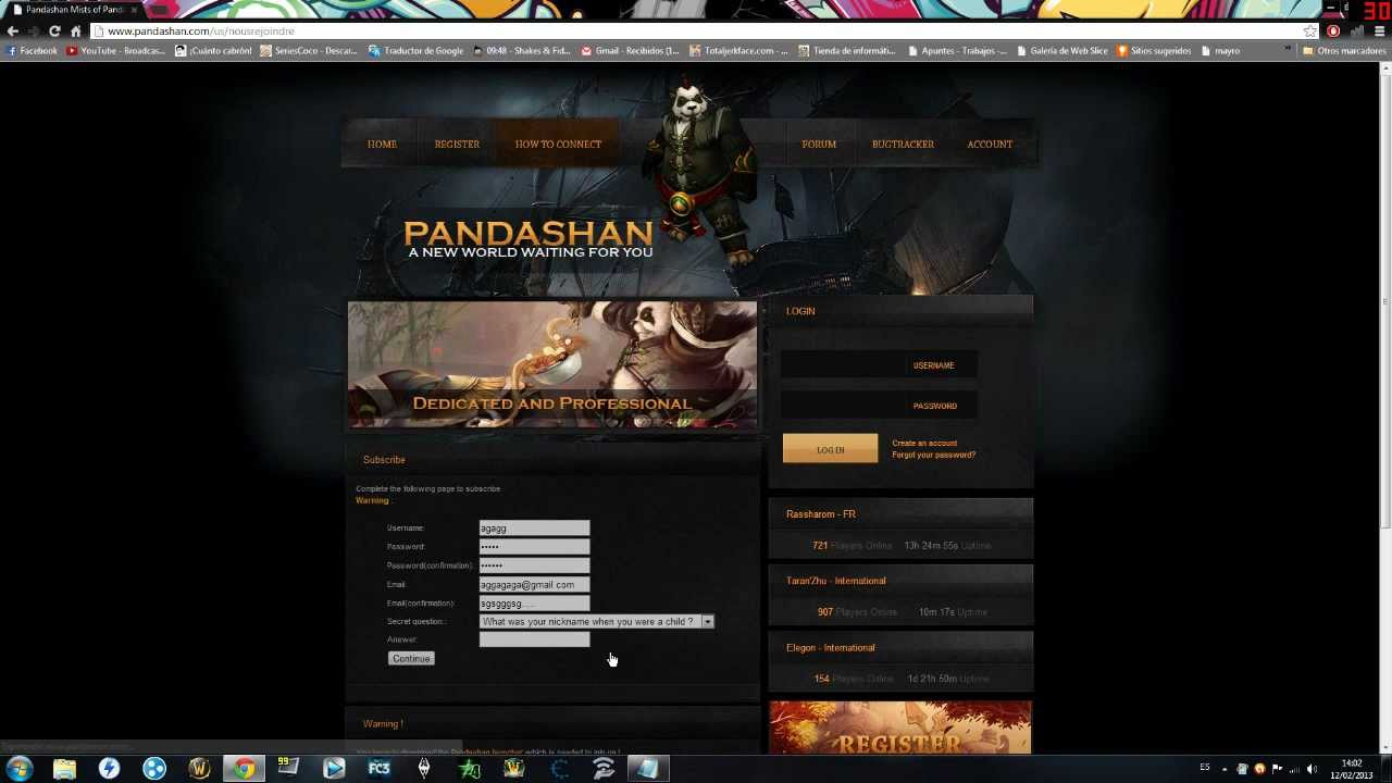 WORLD WARCRAFT TÉLÉCHARGER MISTS 5.0.5 PANDARIA OF OF