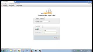 Créer une base de données avec Wampserver