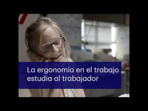Ver en youtube el video Introducción a la ergonomía