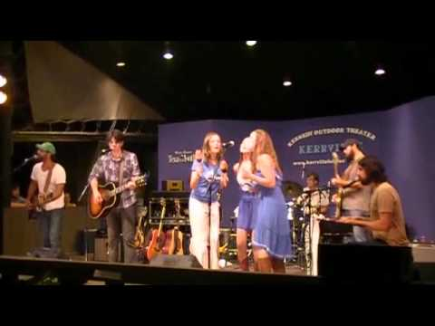 Band of Heathens & The Trishas - Millionaire (Live at Kerrville Wine & Music Festival 2011)