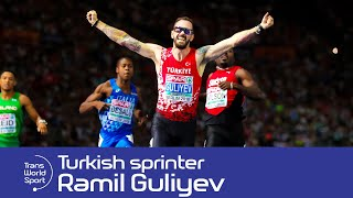 Ramil Guliyev | World 200m Champion aged 17 on Trans World Sport (2007)