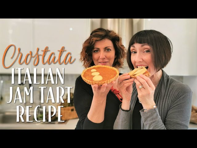 Crostata Italian Jam Tart Recipe - Foodie Sisters in Italy