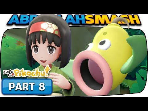 Pokemon Lets Go Pikachu & Eevee - Part 8: ERIKA! (100% Walkthrough)