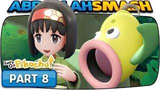 Pokemon Let's Go Pikachu & Eevee - Part 8: ERIKA! (100% Walkthrough)