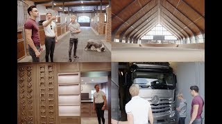 LUXURY STABLE TOURS || PATRIK KITTEL & LYNDAL OATLEY