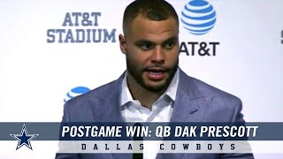 Dak Prescott on Team's Attitude and Leading the NFC East | Dallas Cowboys 2018