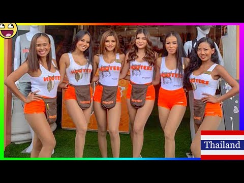 Hooters Girl For Take Away Please - Pattaya Thailand