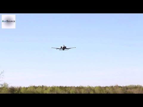 A-10 Thunderbolt II Close Air Support Demonstration