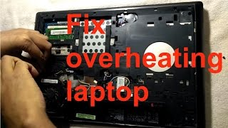 How to fix heating problem of laptop   Hindi