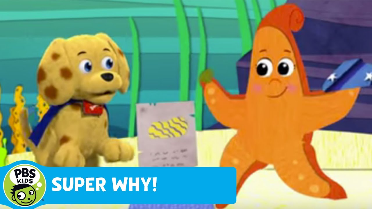 Super why woofster finds a clue pbs kids youtube