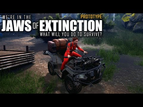 ESCAPING THE ISLAND | Jaws of Extinction | Prototype Gameplay | E02