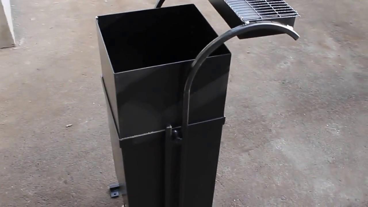 Урна для мусора уличная своими руками фото 349