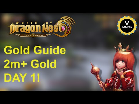 Gold Guide 2m+ Day 1 - World Of Dragon Nest