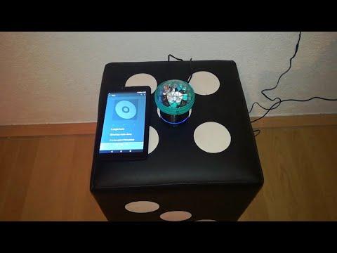 Sound Reactive Led Light on Bluetooth Speaker