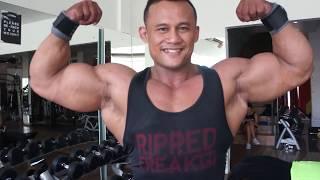 Tricep giant Set Ala Binaraga Indonesia Juara 5 Fit Why Adey 2018
