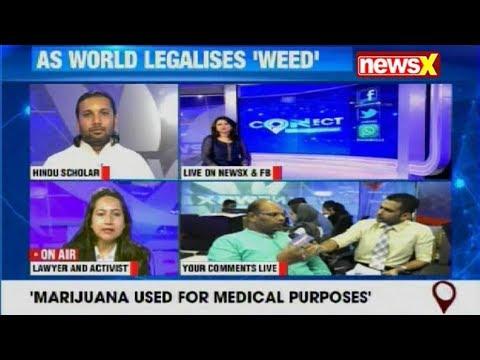 NewsX Connect: Maneka Gandhi rakes up debate by calling for legalisation of marijuana