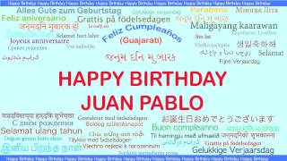 JuanPablo   Languages Idiomas - Happy Birthday
