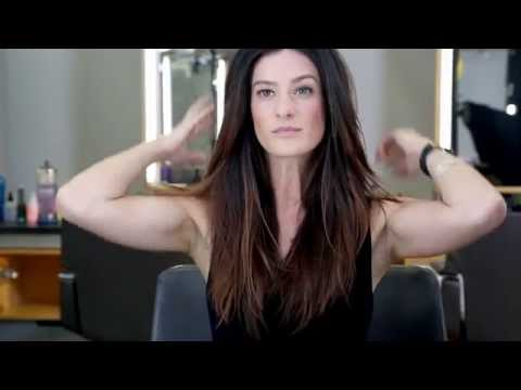 How to Blow Dry Hair with a Flat Brush for a Classic Straight Look by Bumble and bumble | Sephora