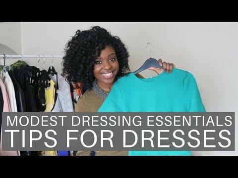 Modest Dressing Essentials   Tips For Dresses