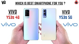 VIVO Y53S 4G VS VIVO Y53S 5G _ Full Detailed Comparison _Which is best?