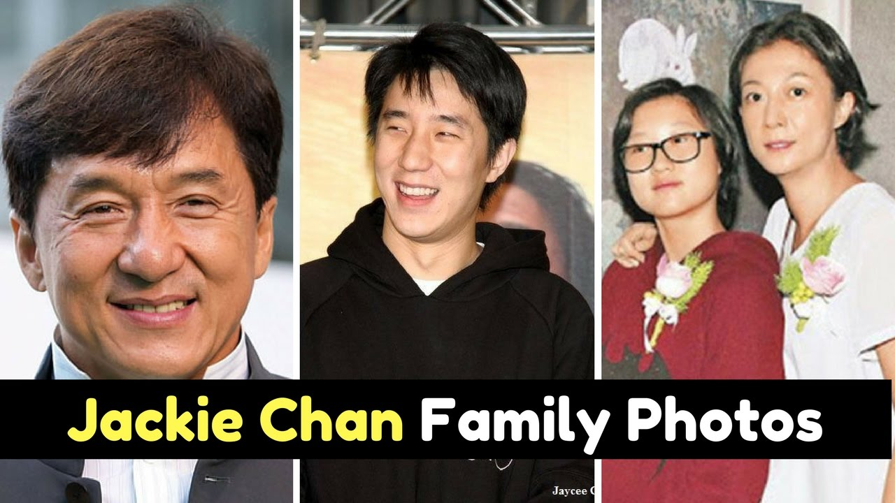 Actor Jackie Chan Family Photos With Wife Joan Lin, Son ...