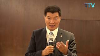 CTA President Dr. Lobsang Sangay Advocates Tibet in Switzerland