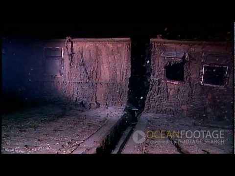 Ocean Footage: Behind the Scenes, Titanic Wreck Underwater