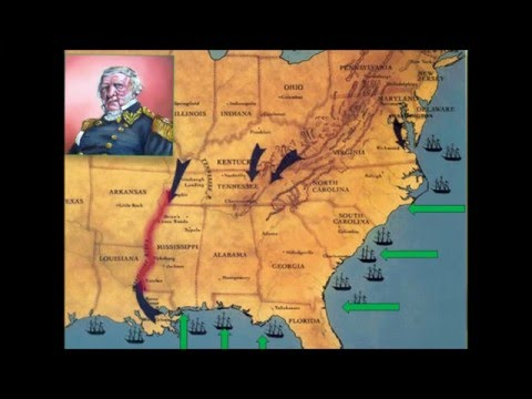 Winfield Scott & the Anaconda Plan