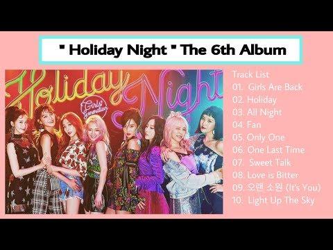 """[Full Album] """" Holiday Night """" Girls' Generation 6th Album"""