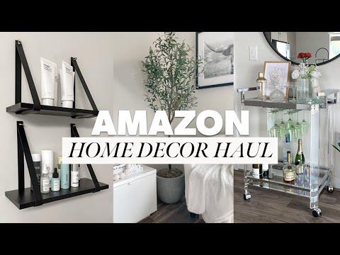 AMAZON HOME DECOR HAUL & MUST HAVES   AMAZON HOME FAVORITES 2021
