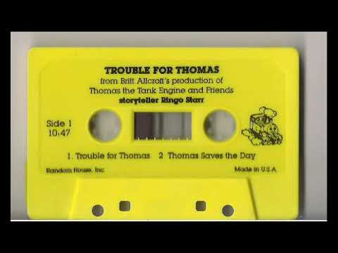 Trouble For Thomas The Train Cassette