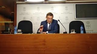 Juan Vázquez (Cs) dimite como diputado