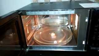 How to use a LG MICROWAVE | Beginners | DEMO