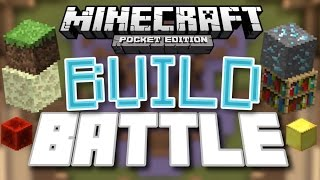 ✔️Minecraft PE - BUILD BATTLE WITH MY BROTHER [ThePugCableHQ] // MCPE SERVER (MCPE)