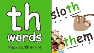 'th' Words | Blending Phonics Phase 3
