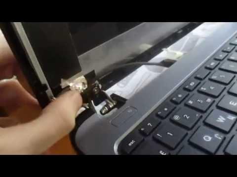 Видео Ремонт петель ноутбука