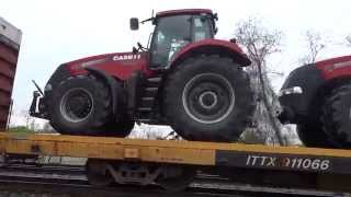 Case & New Holland Tractors Destined for France, Ukraine, Etc..