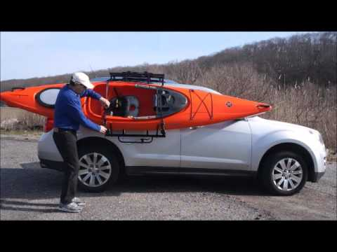Easy Load Sliding Kayak Roof Rack By WAR~RAK ~ Get There ~ Live Your Passion