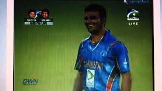Last exciting moment of Pakistan vs Afghanistan cricket