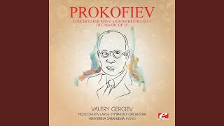 Concerto for Piano and Orchestra No. 3 in C Major, Op. 26: II. Tema con variazioni