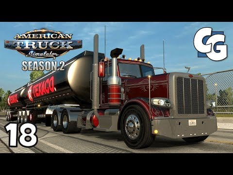 ATS S02E18 - Peterbilt 389 with Interior Reworks by AlexeyP - American Truck Simulator Let's Play