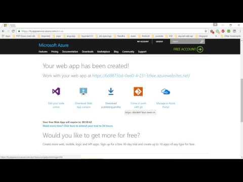 azure deployment | asp.net web api