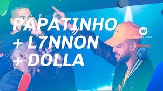 Baixar Papatinho, L7nnon e Dolla ao vivo no stand Warner Music Mix FM (Rock in Rio 2019)