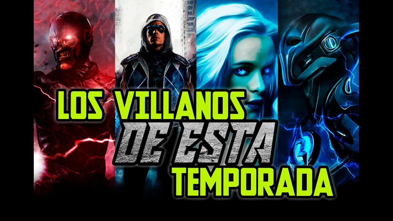 The flash villanos de la tercera temporada youtube for Oficina de infiltrados temporada 3